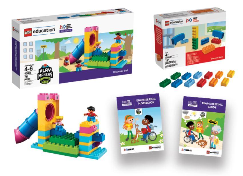 Ensemble First Lego League Discover